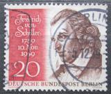 Poštovní známka Západní Berlín 1959 Friedrich von Schiller Mi# 190