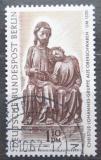 Poštovní známka Západní Berlín 1967 Dřevěná socha Mi# 308