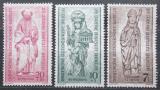 Poštovní známky Západní Berlín 1955 Sochy Mi# 132-34 Kat 4.50€