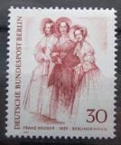 Poštovní známka Západní Berlín 1969 Berlíňanky Mi# 336