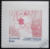 Poštovní známka Dánsko 2013 Mapa Evropy Mi# 1761