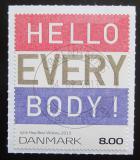 Poštovní známka Dánsko 2013 Grafika, Jytte Hoy Mi# 1754