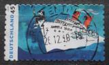 Poštovní známka Německo 2010 Umění, loď Mi# 2803