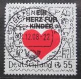 Poštovní známka Německo 2008 Srdce pro děti Mi# 2706
