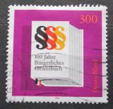 Poštovní známka Německo 1996 Občanský zákoník Mi# 1874