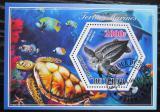 Poštovní známka Čad 2014 Želvy Mi# N/N