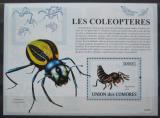 Poštovní známka Komory 2009 Hmyz Mi# Block 471 Kat 15€