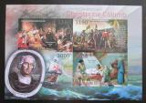 Poštovní známky Burundi 2012 Kryštof Kolumbus neperf. Mi# 2863-66 B