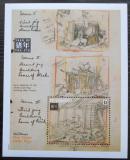 Poštovní známka Svatý Vincenc 1992 Disney, Tři malá prasátka Mi# Block 255