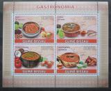 Poštovní známky Guinea-Bissau 2009 Místní kuchyně Mi# 4111-14 Kat 8€