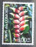 Poštovní známka Komory 2011 Helikónie Mi# 3084