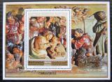 Poštovní známka Manáma 1972 Umění, vánoce Mi# Block 174 A Kat 10€