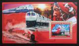 Poštovní známka Guinea 2006 Čínské lokomotivy Mi# Block 1046