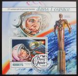 Poštovní známka Guinea 2016 Jurij Gagarin Mi# Block 2618 Kat 16€