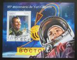 Poštovní známka Mosambik 2019 Jurij Gagarin Mi# N/N