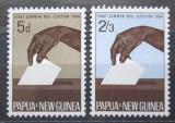 Poštovní známky Papua Nová Guinea 1964 První všeobecné volby Mi# 56-57
