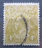 Poštovní známka Austrálie 1933 Král Jiří V. Mi# 102 X
