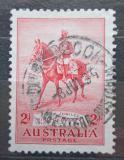 Poštovní známka Austrálie 1935 Král Jiří V. na koni Mi# 129
