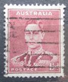 Poštovní známka Austrálie 1938 Král Jiří VI. Mi# 140 A