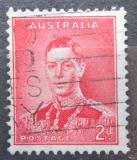Poštovní známka Austrálie 1937 Král Jiří VI. Mi# 142 A