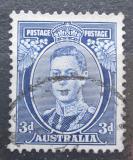 Poštovní známka Austrálie 1938 Král Jiří VI. Mi# 143 A