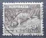 Poštovní známka Austrálie 1938 Ptakopysk podivný Mi# 147 A