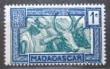 Poštovní známka Madagaskar 1933 Zebu Mi# 180