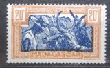 Poštovní známka Madagaskar 1943 Zebu Mi# 345