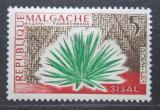 Poštovní známka Madagaskar 1960 Agáve sisalová Mi# 450
