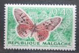 Poštovní známka Madagaskar 1960 Acraea hova Mi# 446