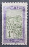 Poštovní známka Madagaskar 1908 Přeprava na nosítkách Mi# 74