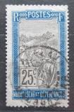 Poštovní známka Madagaskar 1908 Přeprava na nosítkách Mi# 81