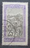 Poštovní známka Madagaskar 1922 Přeprava na nosítkách Mi# 154