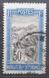 Poštovní známka Madagaskar 1922 Přeprava na nosítkách Mi# 160