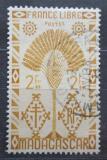 Poštovní známka Madagaskar 1943 Strom cestovatelů Mi# 358