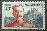 Poštovní známka Madagaskar 1954 Maršál Lyautey Mi# 430
