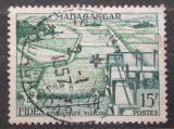 Poštovní známka Madagaskar 1956 Hydraulické zavodňování Mi# 434