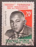 Poštovní známka Madagaskar 1960 Prezident Philibert Tsiranana Mi# 465