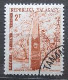 Poštovní známka Madagaskar 1962 Památník nezávislosti, doplatní Mi# 42