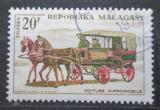 Poštovní známka Madagaskar 1965 Poštovní dostavník Mi# 542