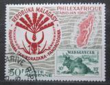 Poštovní známka Madagaskar 1969 Výstava PHILEXAFRIQUE Mi# 597