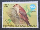 Poštovní známka Madagaskar 1975 Datel okinawský Mi# 757