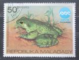 Poštovní známka Madagaskar 1975 Žába Mi# 759