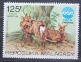 Poštovní známka Madagaskar 1975 Axis indický Mi# 761