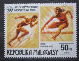 Poštovní známka Madagaskar 1976 LOH Montreal, atletika Mi# 776