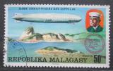 Poštovní známka Madagaskar 1976 Vzducholoď LZ-127 nad Rio de Janeirem Mi# 784