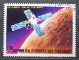 Poštovní známka Madagaskar 1976 Průzkum Marsu Mi# 817