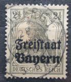 Poštovní známka Bavorsko 1919 Germania přetisk Mi# 136