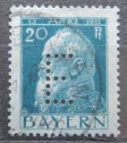 Poštovní známka Bavorsko 1912 Luitpold Bavorský, úřední Mi# 9