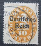 Poštovní známka Německo 1920 Bavorsko přetisk , úřední Mi# 35